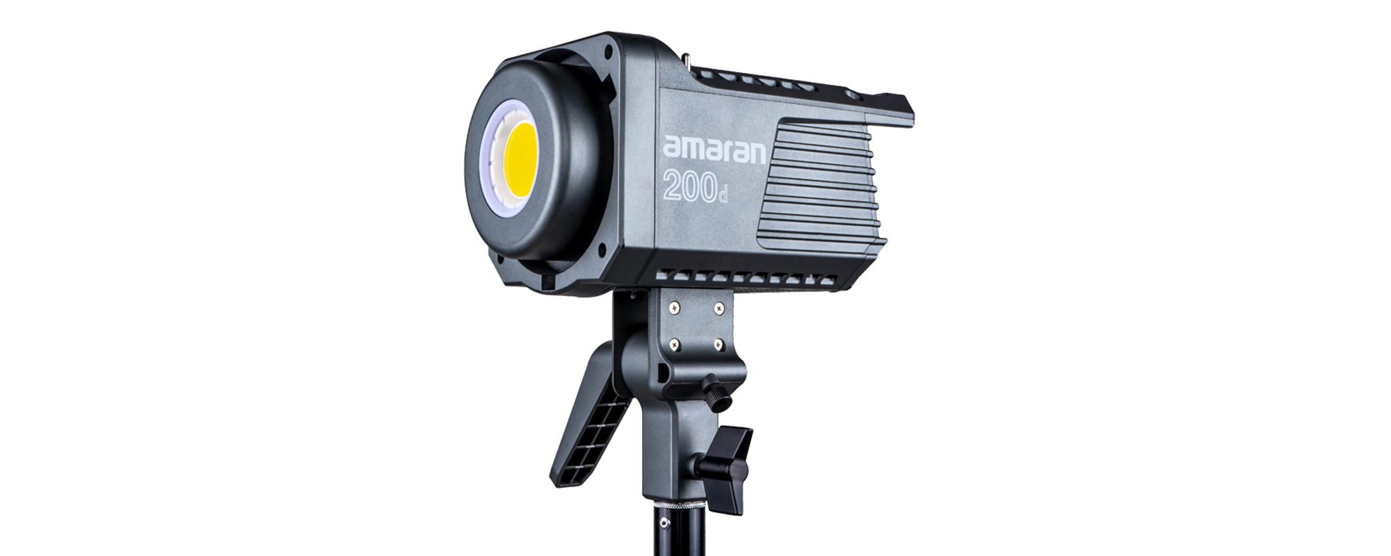Lampa LED Amaran 200d - wierne kolory