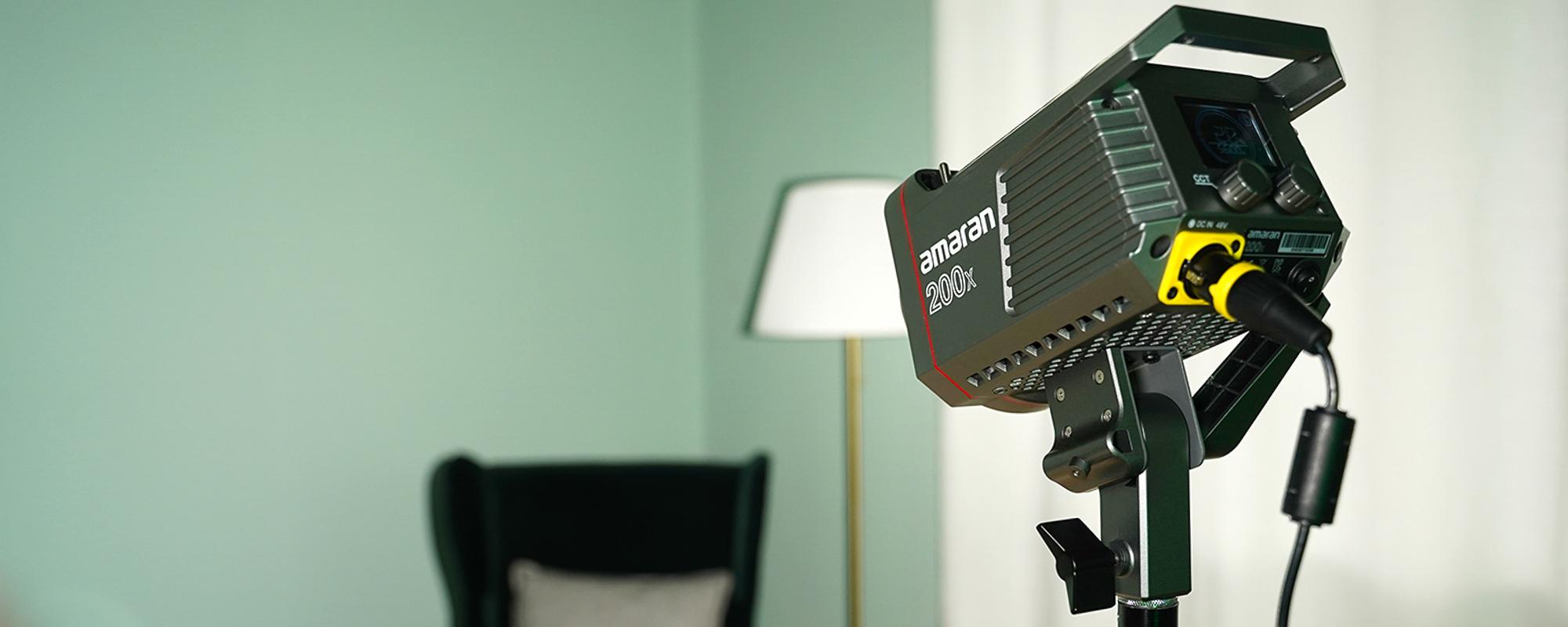 Lampa LED Amaran 200x - przykłady zastosowania
