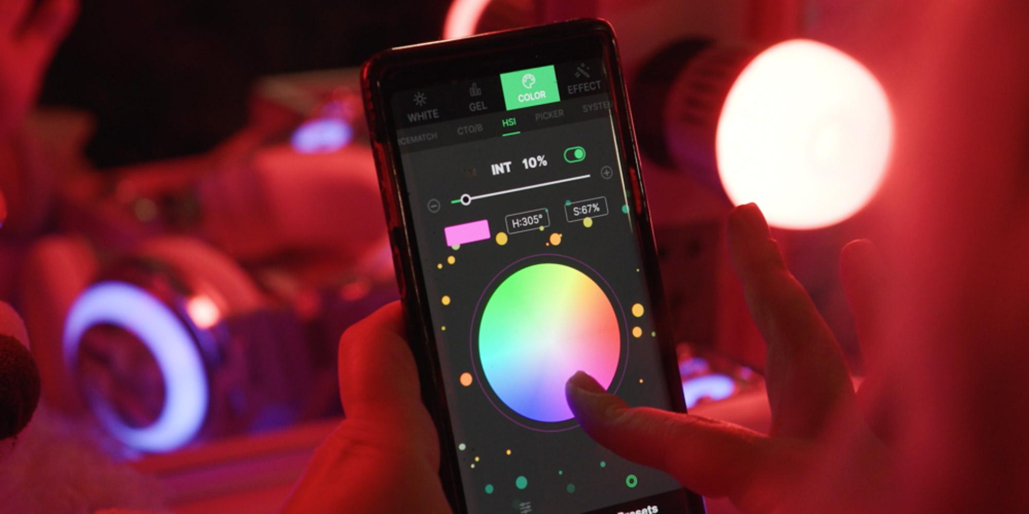 Aplikacja Sidus Link na ekranie smartfona
