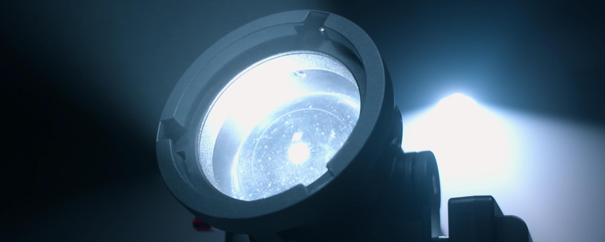 adapter Bowens do lampy LED Aputure Light Storm LS 60d