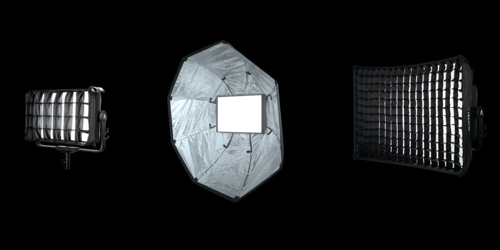Lampa LED Aputure Nova P300c Kit
