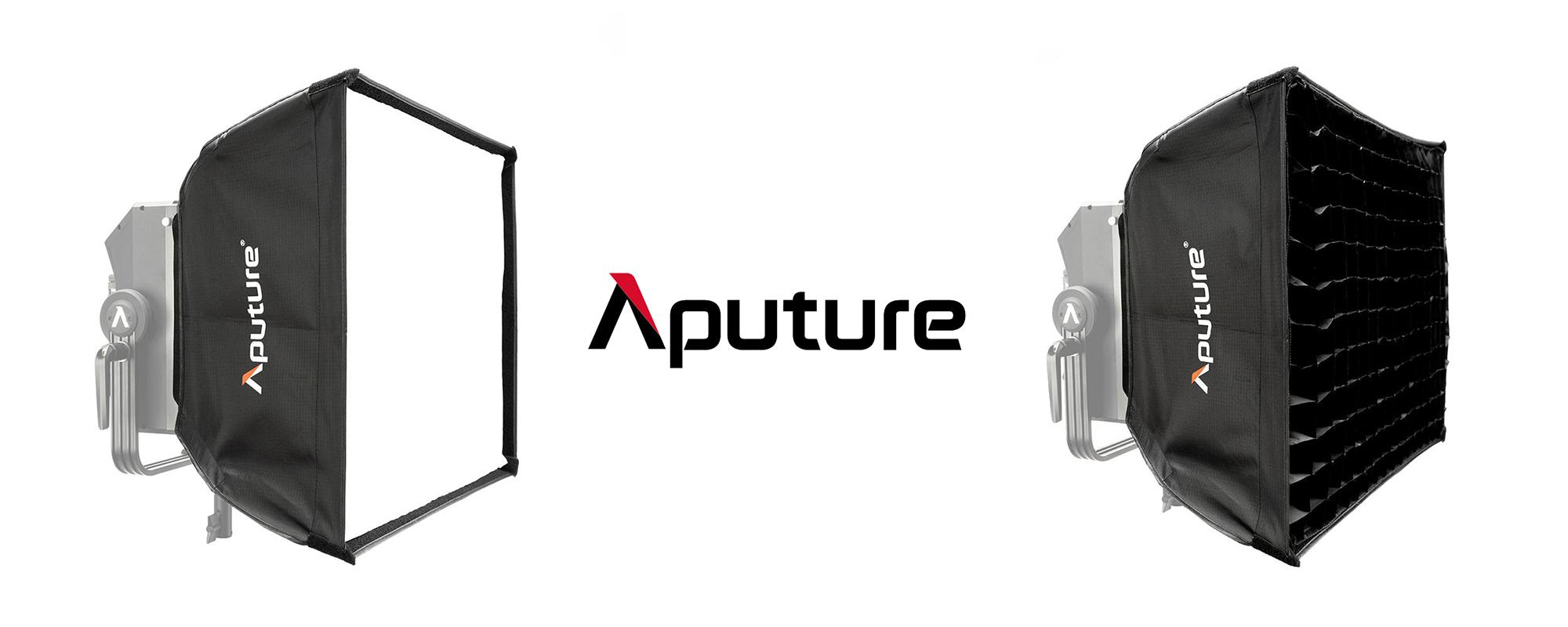Softbox Aputure Nova do lamp P300c z dyfuzorem i gridem