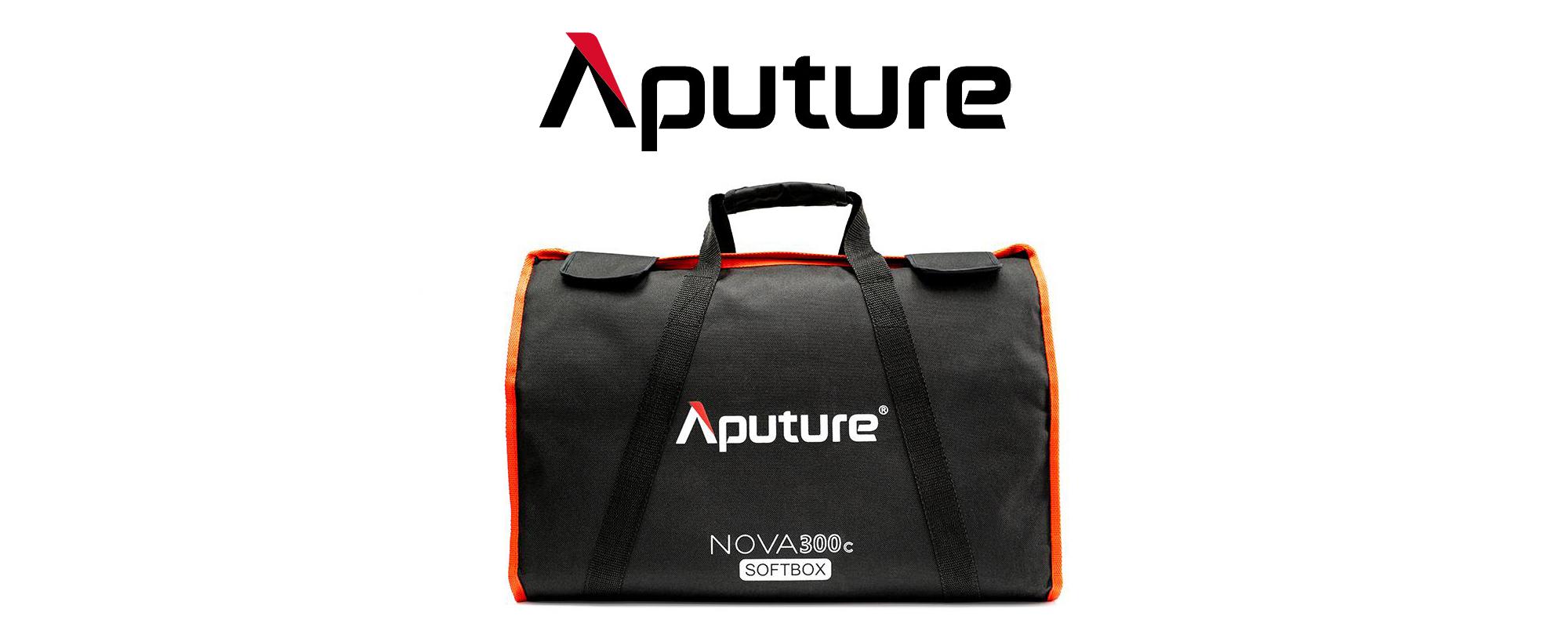 Softbox Aputure Nova do lamp P300c w torbie transportowej