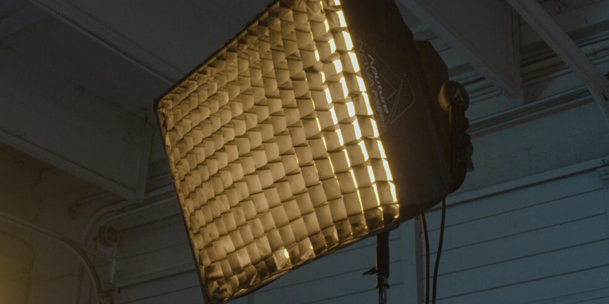 Softbox Aputure Nova do lamp P300c z gridem