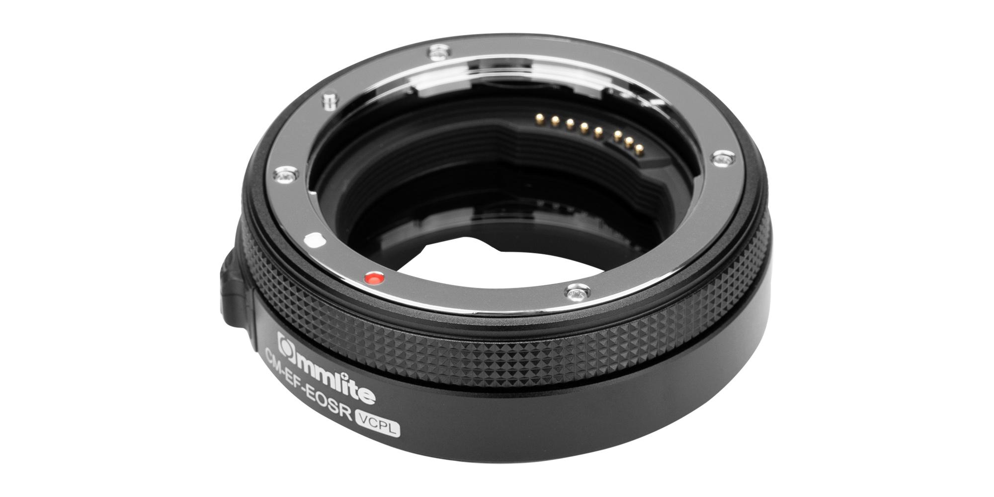 Adapter bagnetowy Commlite CM-EF-EOSR VCPL - mocowanie na obiektyw Canon EF