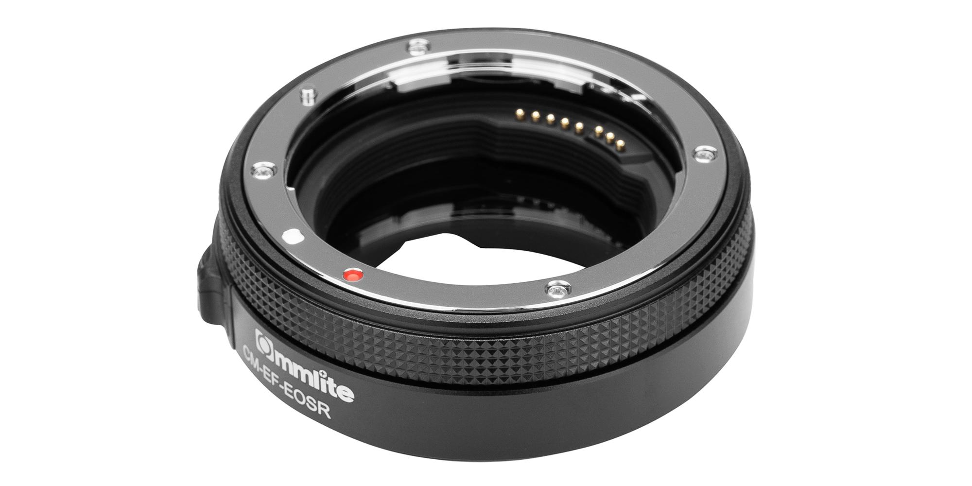 Adapter bagnetowy Commlite CM-EF-EOSR VND - mocowanie na obiektyw Canon EF