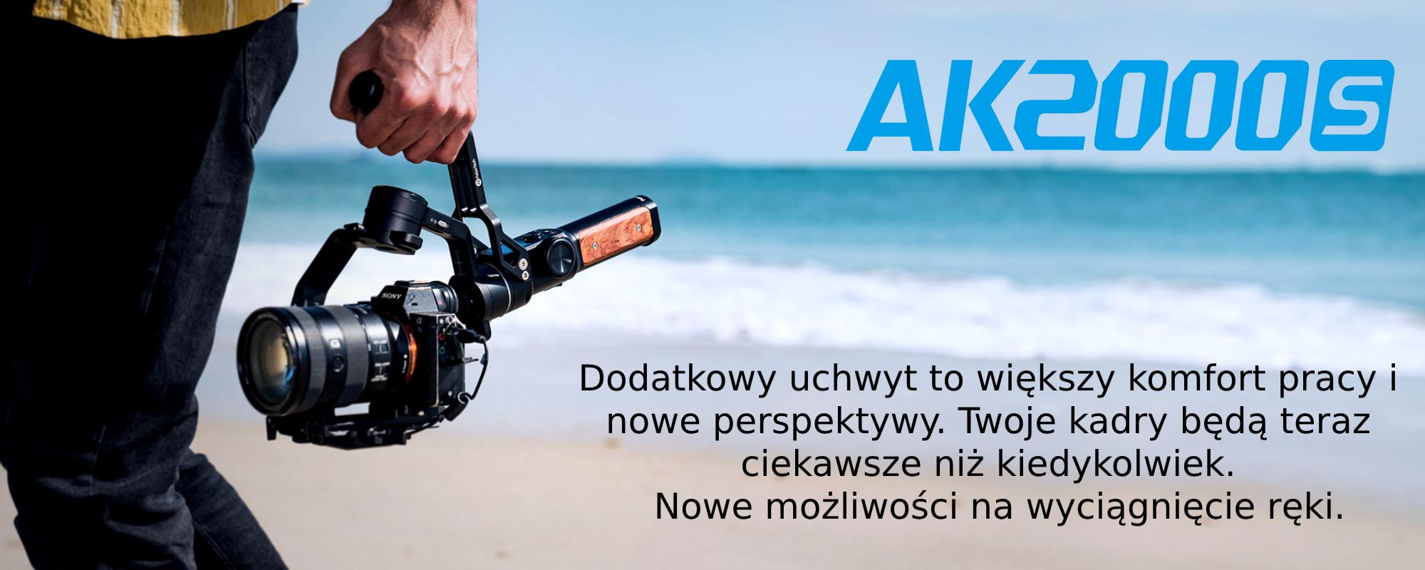 Zdjecie AK2000S na plaży