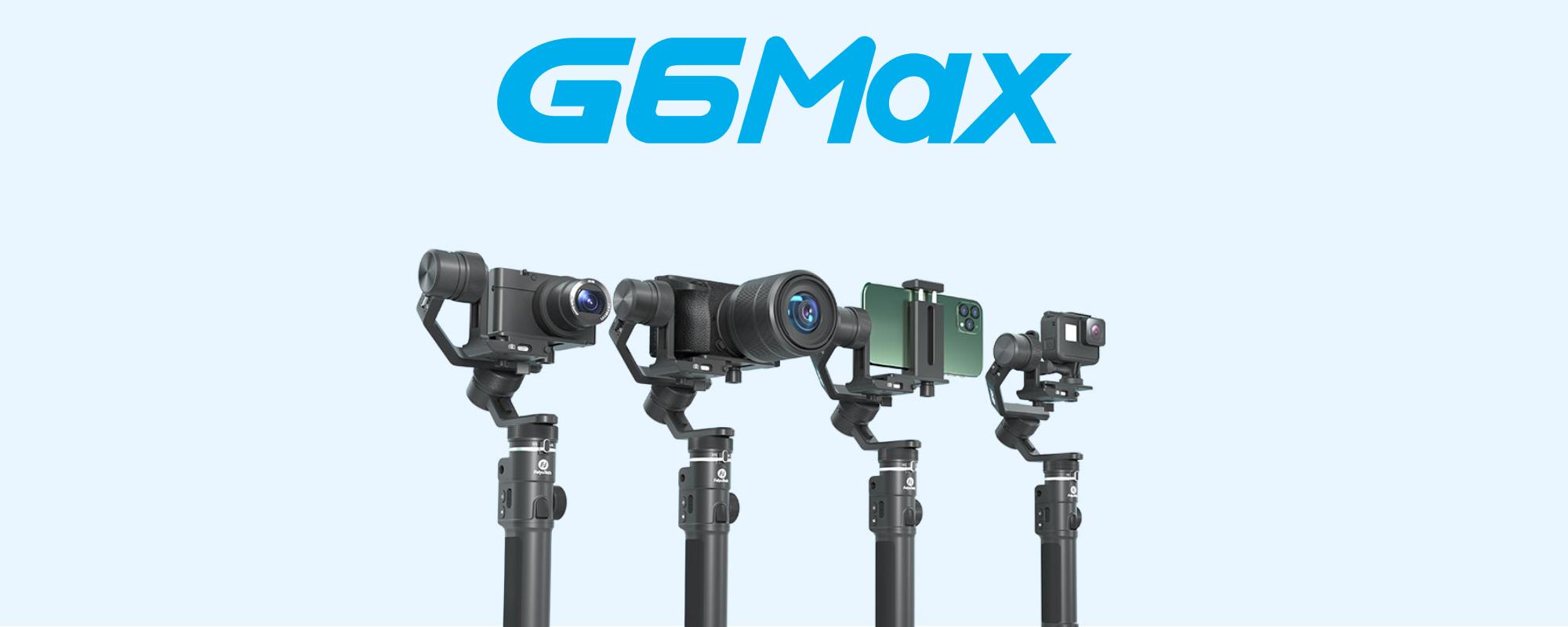 Grafika pokazująca szerokie zastosowanie gimabala G6 Max