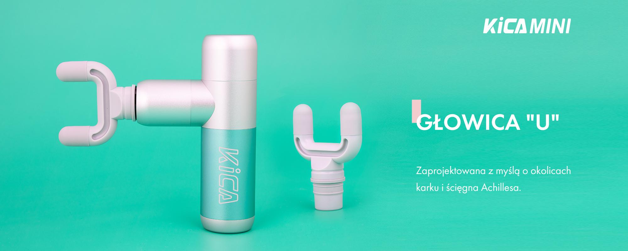 Masażer wibracyjny FeiyuTech KiCA K2 Mini - zielony