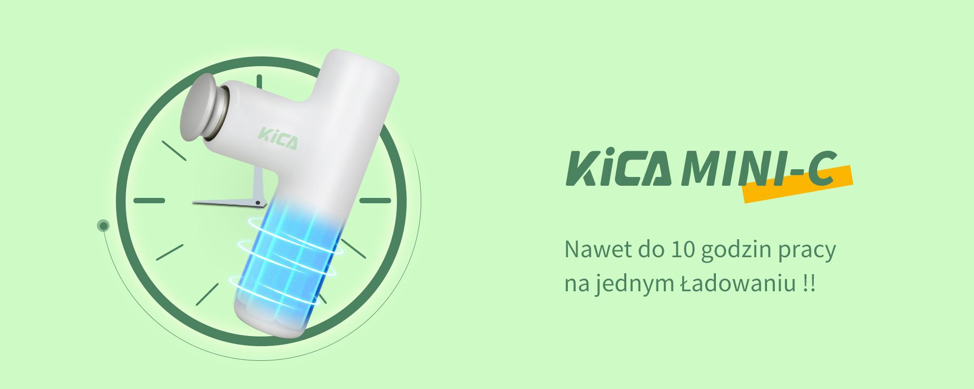 Grafika przedstawiająca masażer FeiyuTech KiCA Mini C