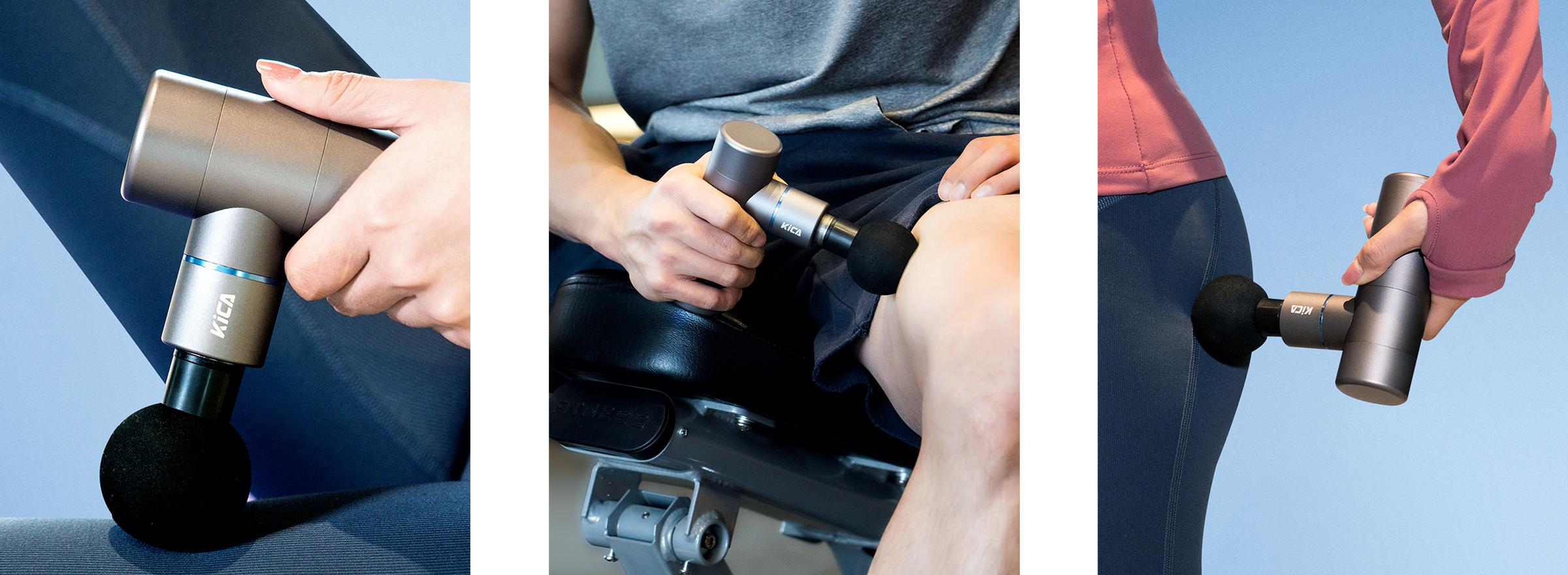 Zastosowanie masażera FeiyuTech KiCA w sporcie