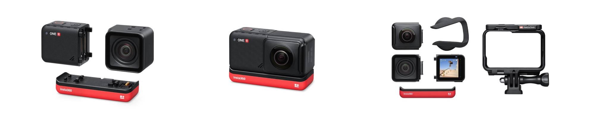 kamera Insta360 One R Twin Edition na białym tle