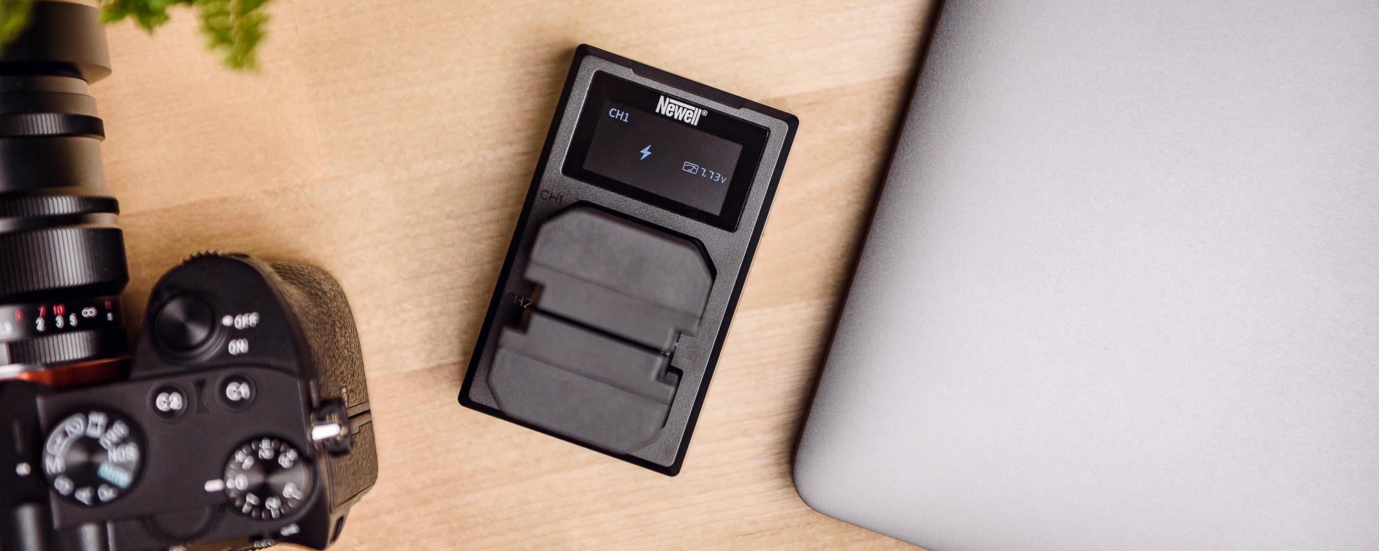 Ładowarka dwukanałowa Newell FDL-USB-C do akumulatorów
