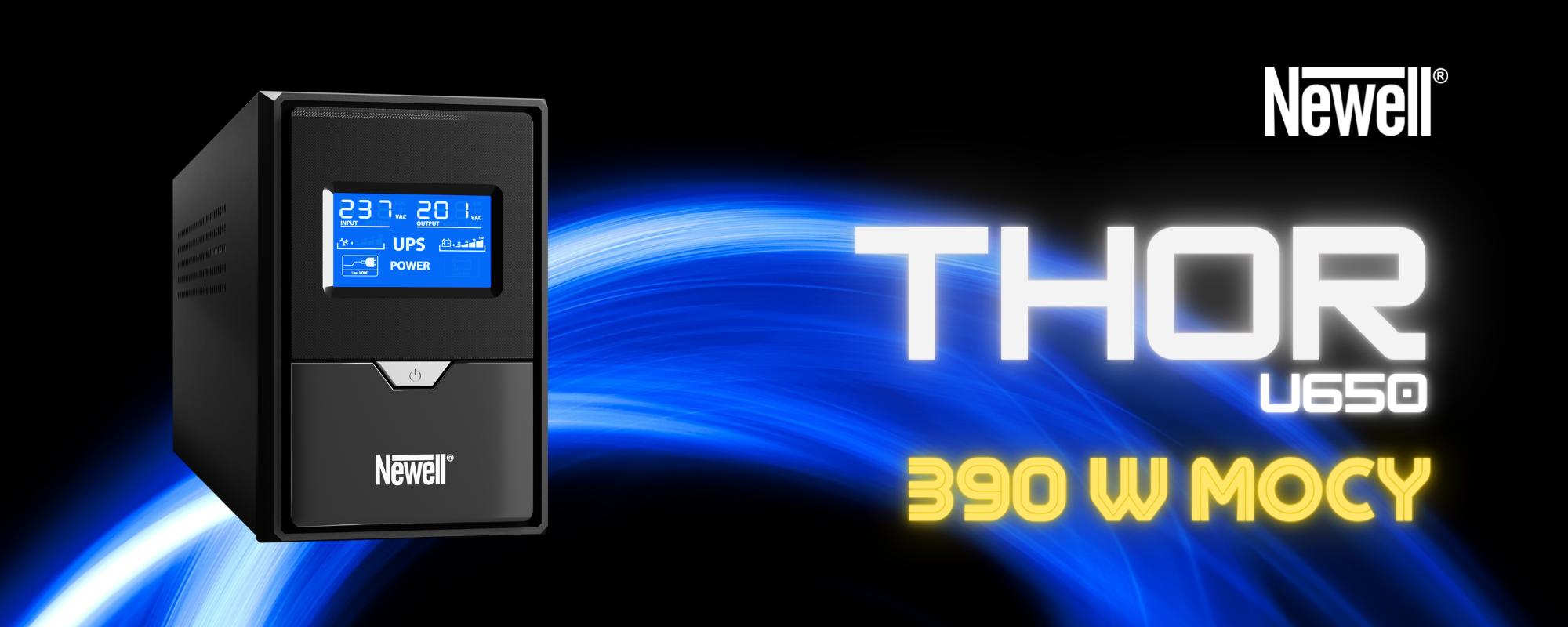 Zasilacz awaryjny UPS Newell Thor U650