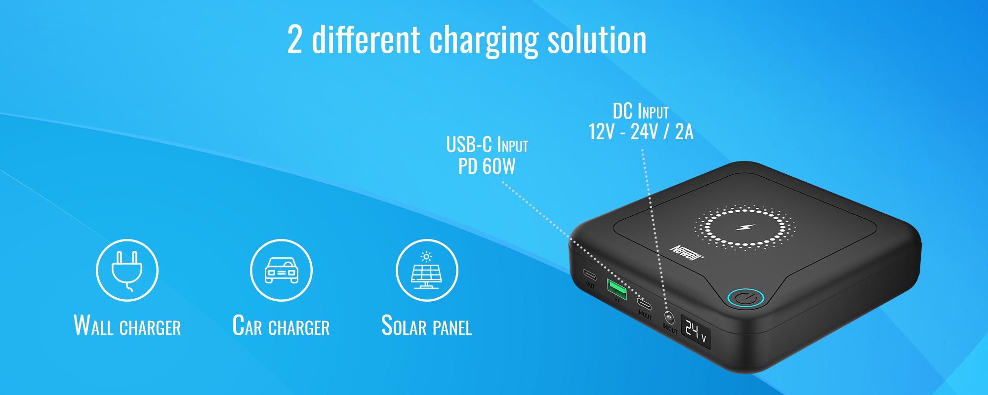 Power Bank Newell GP12 24000 mAh PD 60 W