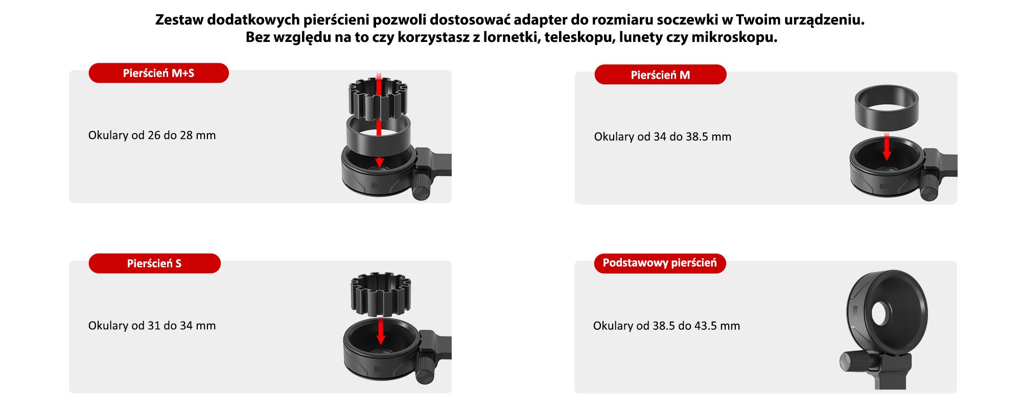 Grafika - Adapter Redleaf SOM-2 do montażu smartfonów na lunetach, teleskopach i mikroskopach_03.jpg