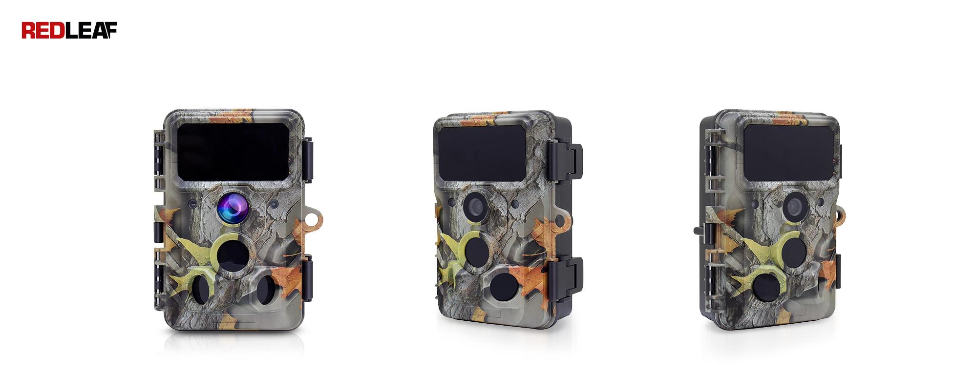 Redleaf RD3019 Pro front side and diagonal surveillance camera