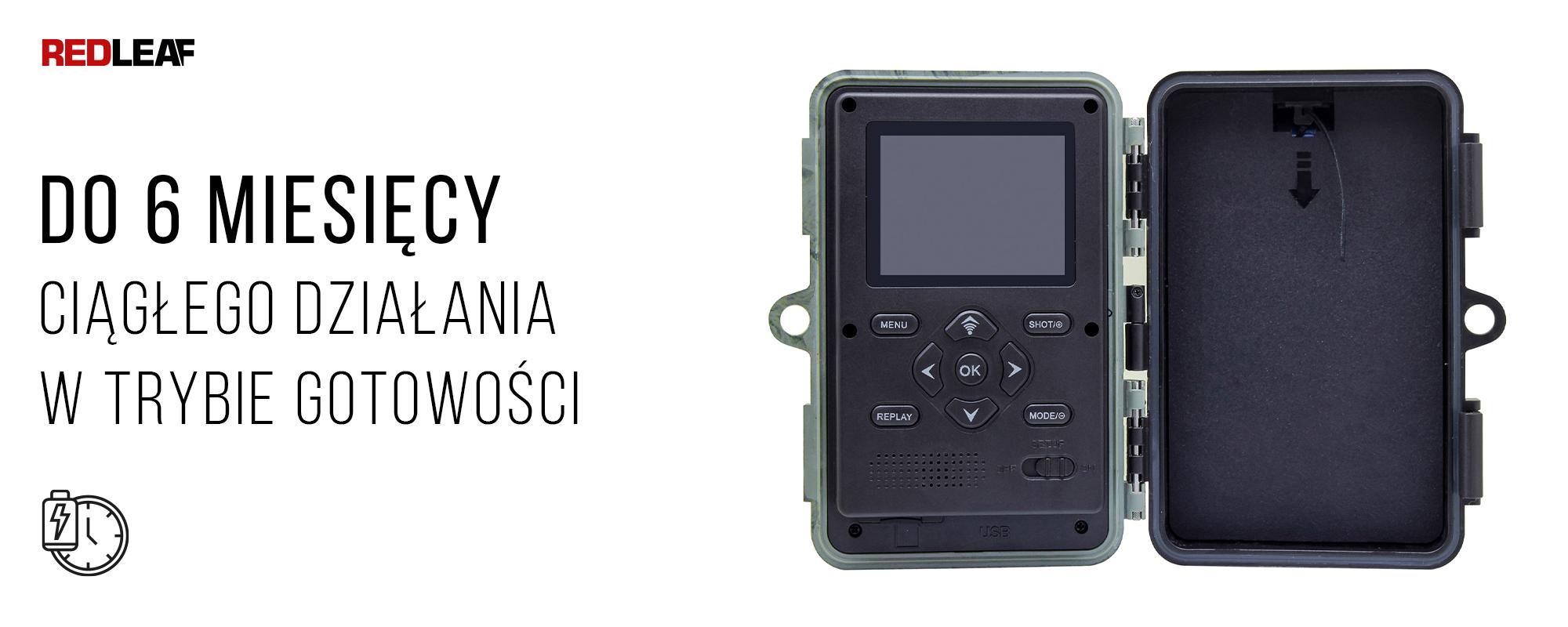otwarta kamera obserwacyjna Redleaf RD3019 Pro