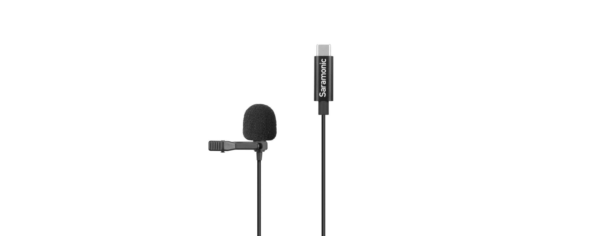 Mikrofon krawatowy LavMicro U3A ze złączem USB-C