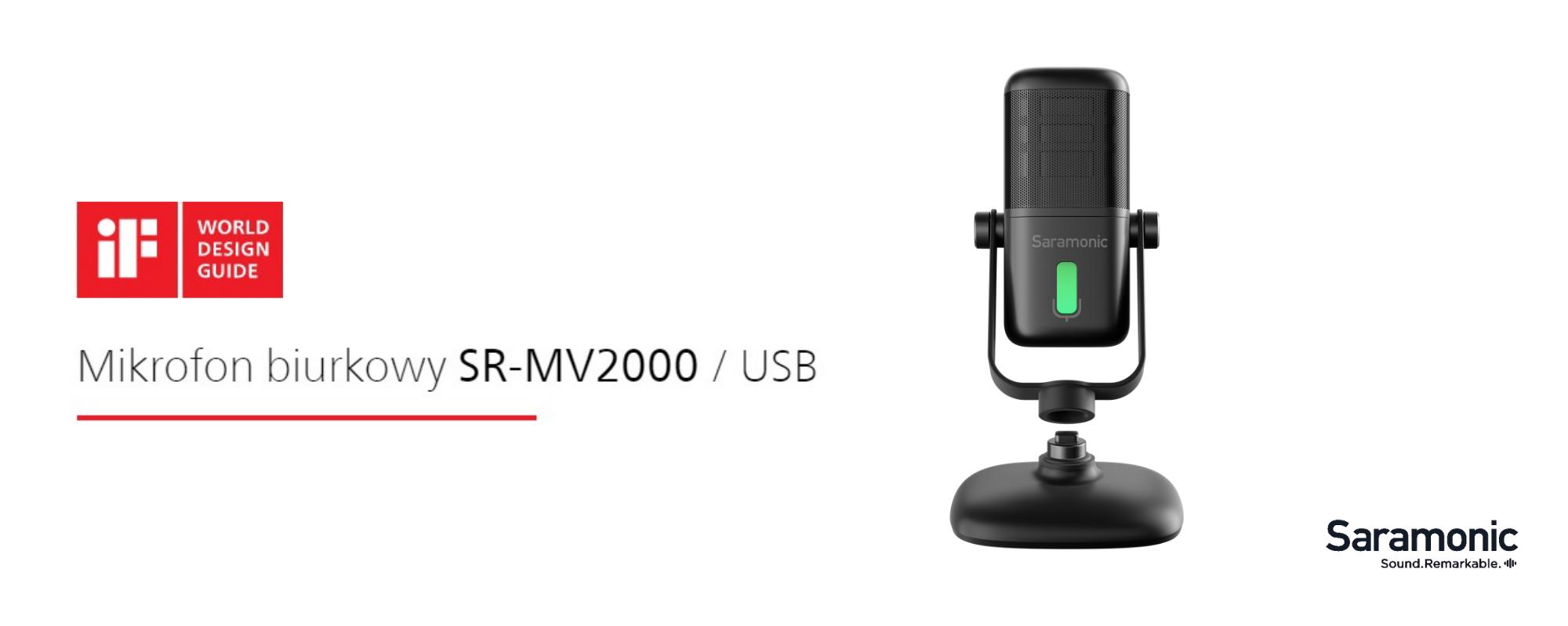 Mikrofon do podcastów Saramonic SR-MV2000