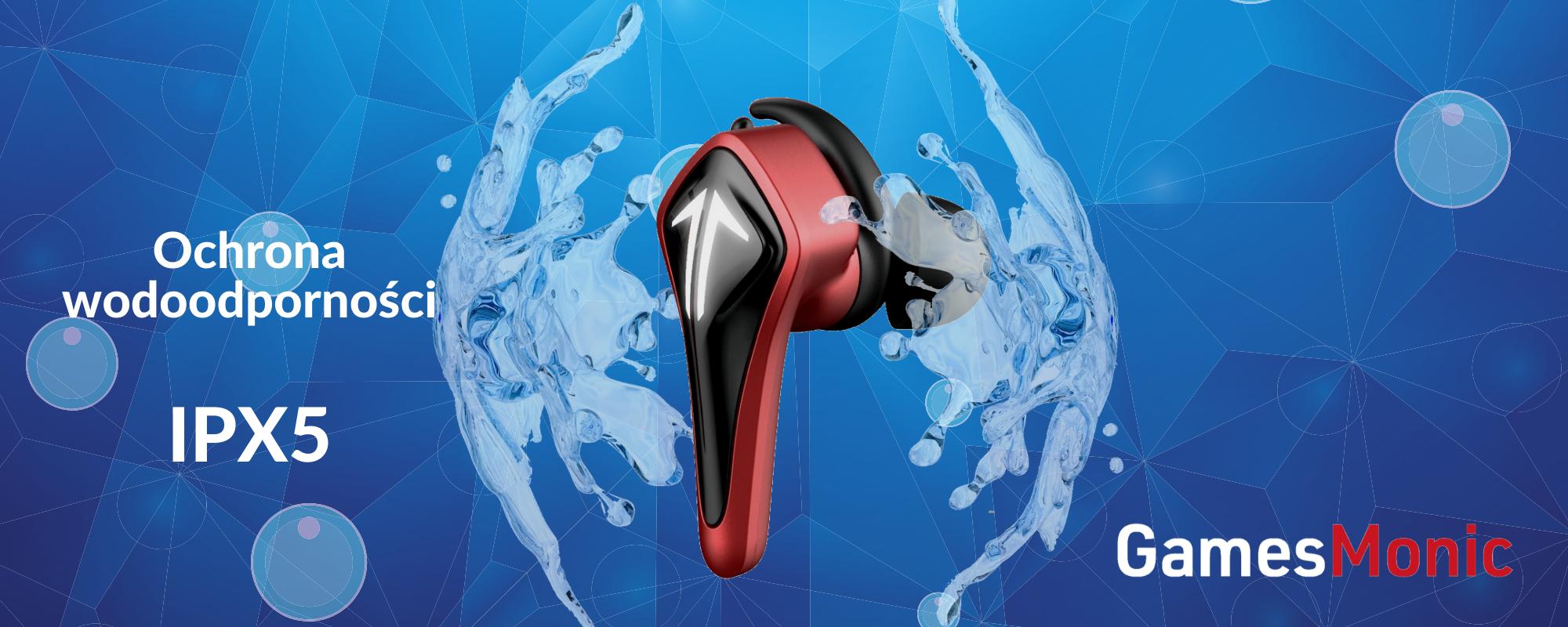 Wodoodporna ochrona IPX5