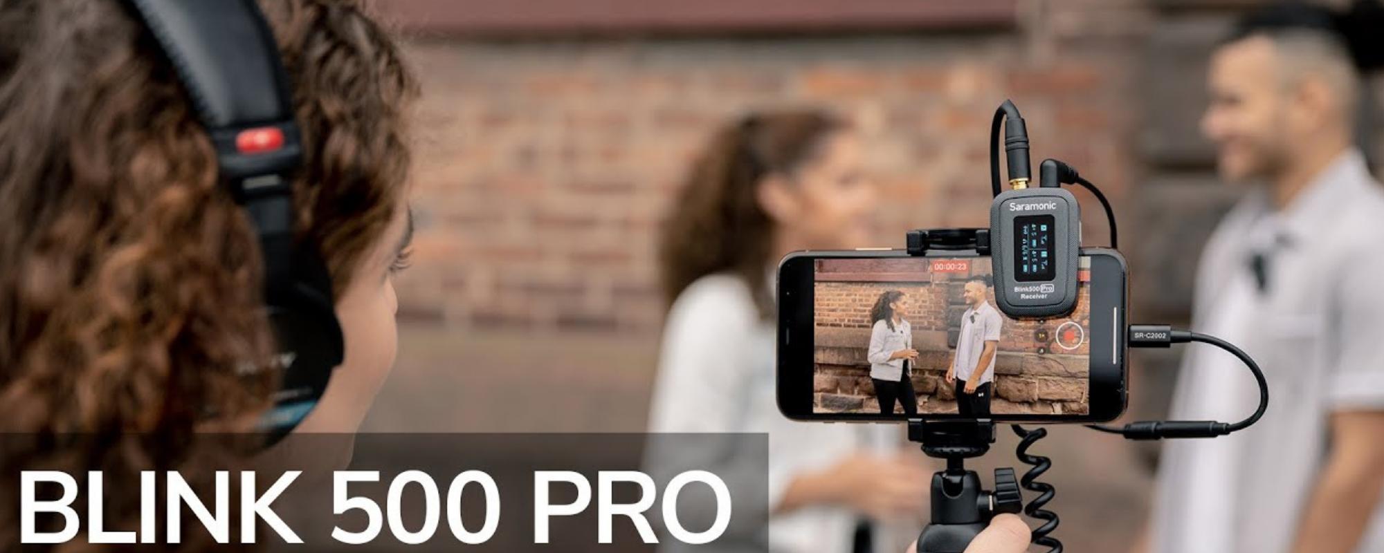 System bezprzewodowy Saramonic Blink500 Pro