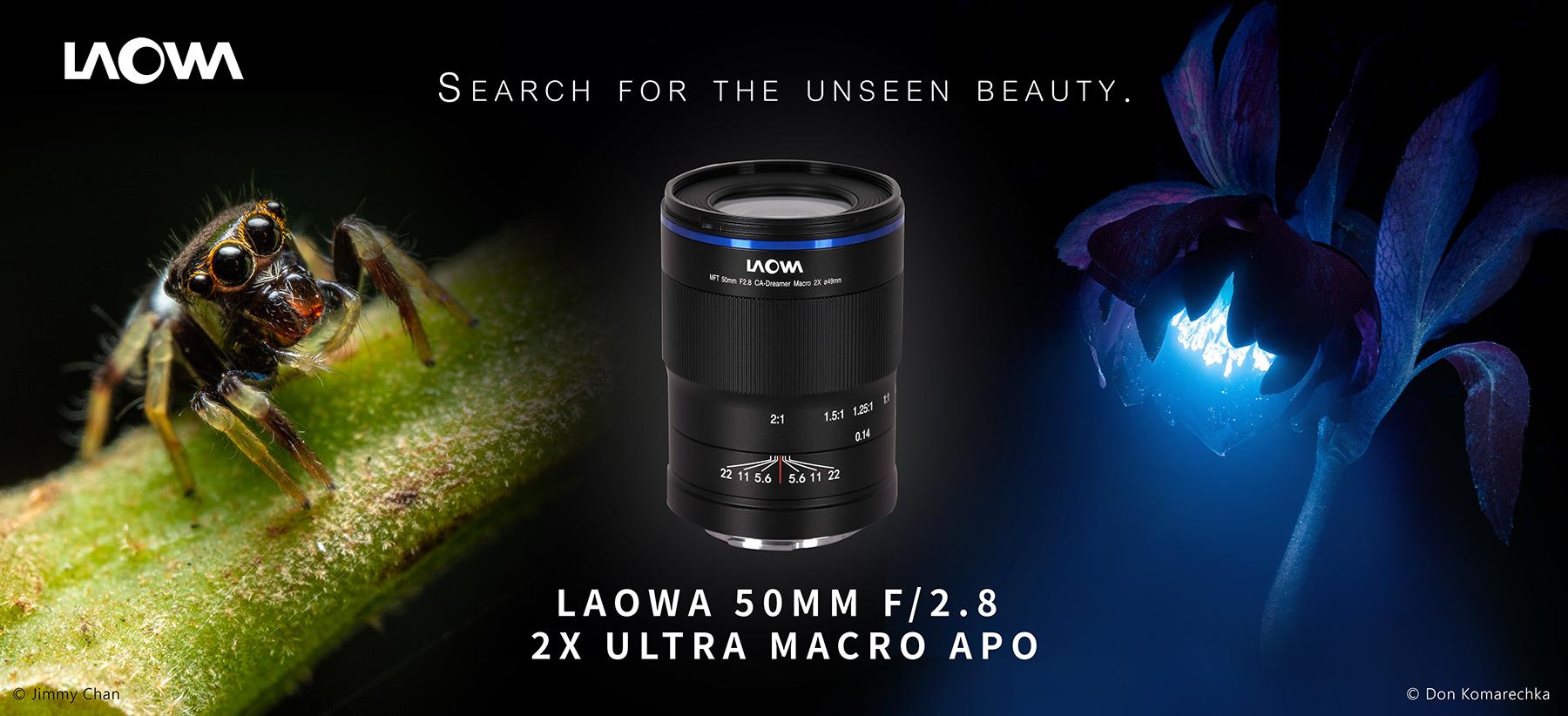 Obiektyw Venus Optics Laowa 50 mm f/2,8 2x Macro do Micro 4/3