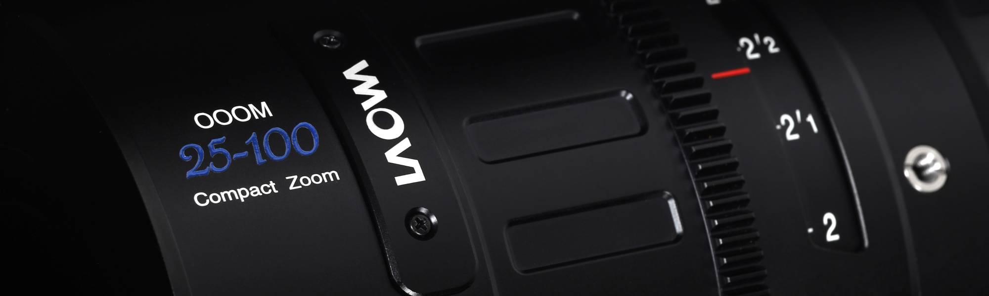 Obiektyw Venus Optics Laowa 7,5 mm T2,1 do Micro 4/3 Cine na białym tle