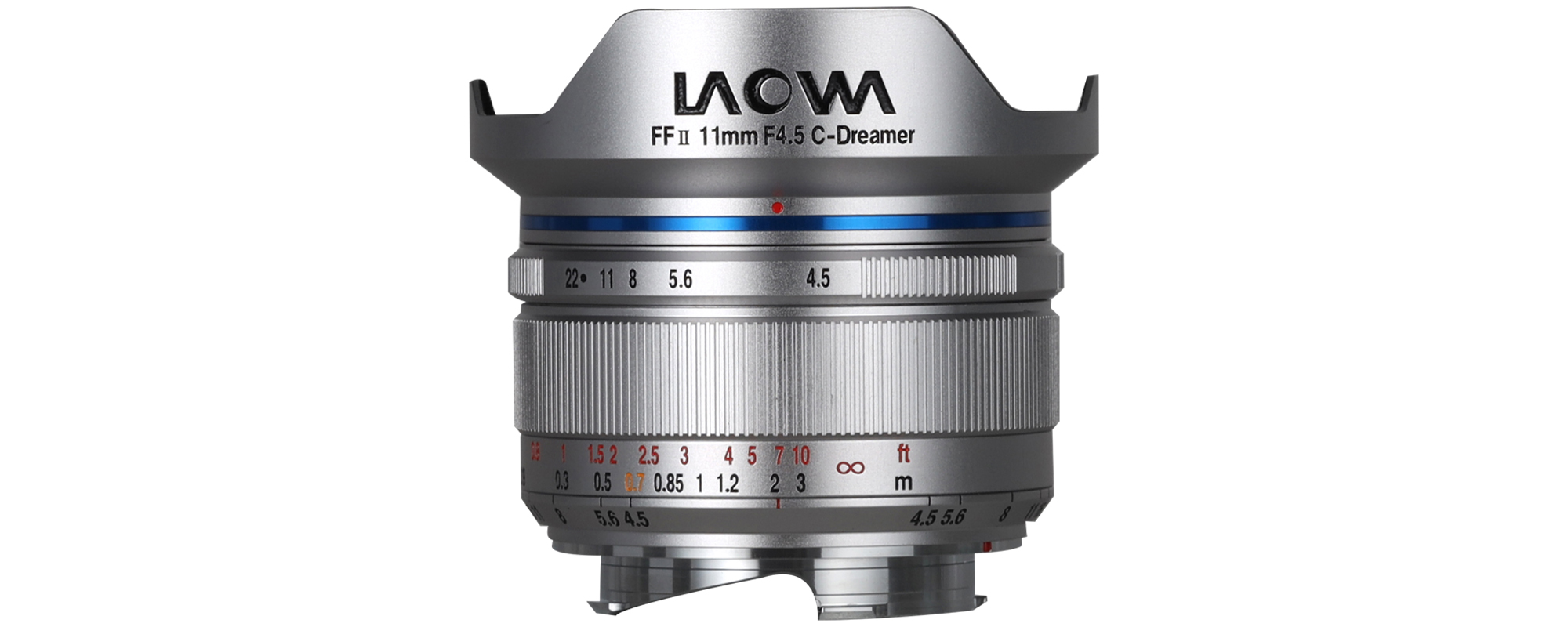 Venus Optics Laowa 11mm f/4.5 FF RL lens for Leica M - silver