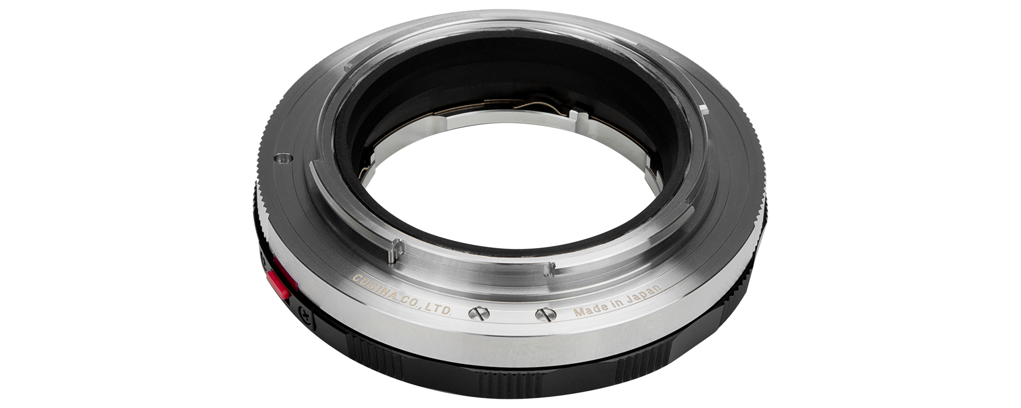 Adapter bagnetowy Voigtlander Close Focus Leica M _ Nikon Z widok mocowania Z