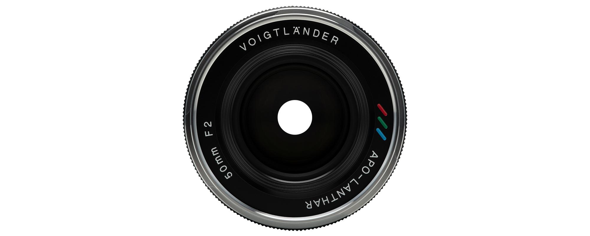 Voigtlander APO Lanthar 50 mm f/2.0 lens for Leica M - 12-blade aperture