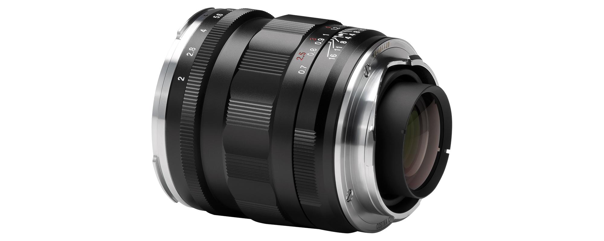 Voigtlander APO Lanthar 50 mm f/2.0 lens with Leica M bayonet