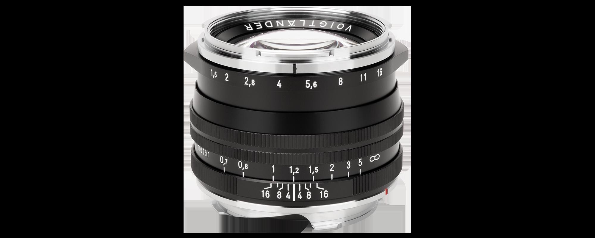 Obiektyw Voigtlander Nokton II 50 mm f/1,5 do Leica M - MC, czarny