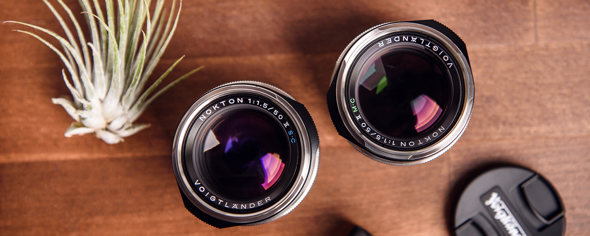 Voigtlander Nokton II 50 mm f/1.5 lens for Leica M - MC and SC coatings
