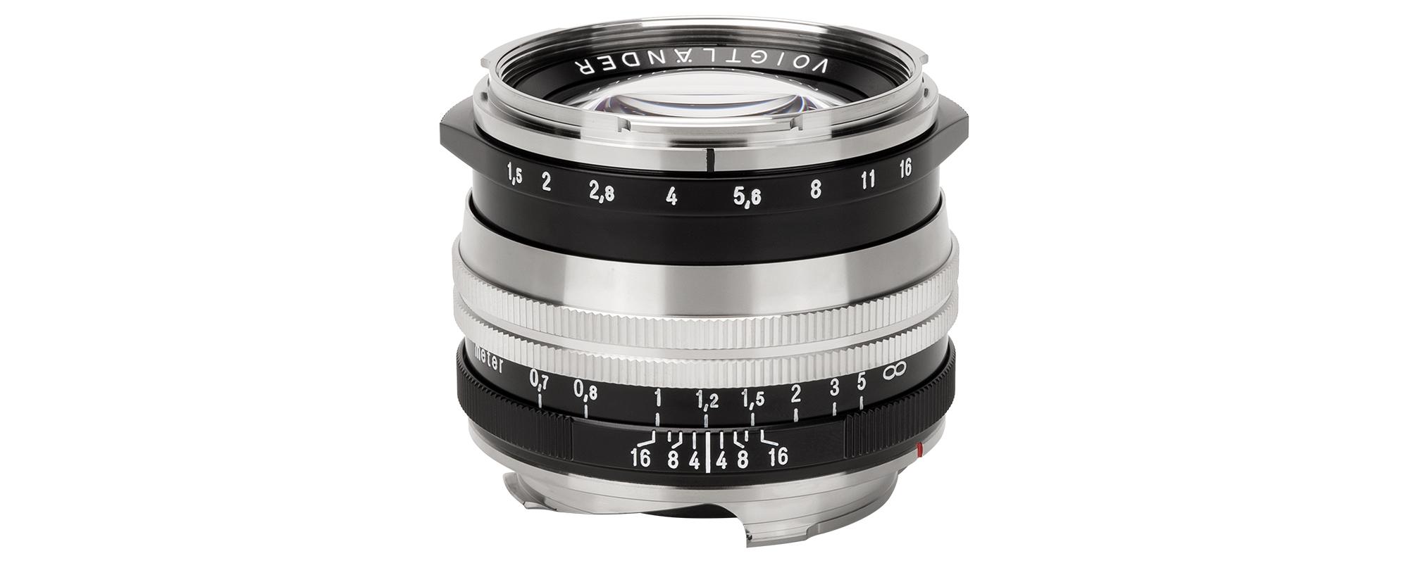 Obiektyw Voigtlander Nokton II 50 mm f/1,5 do Leica M - MC, niklowy