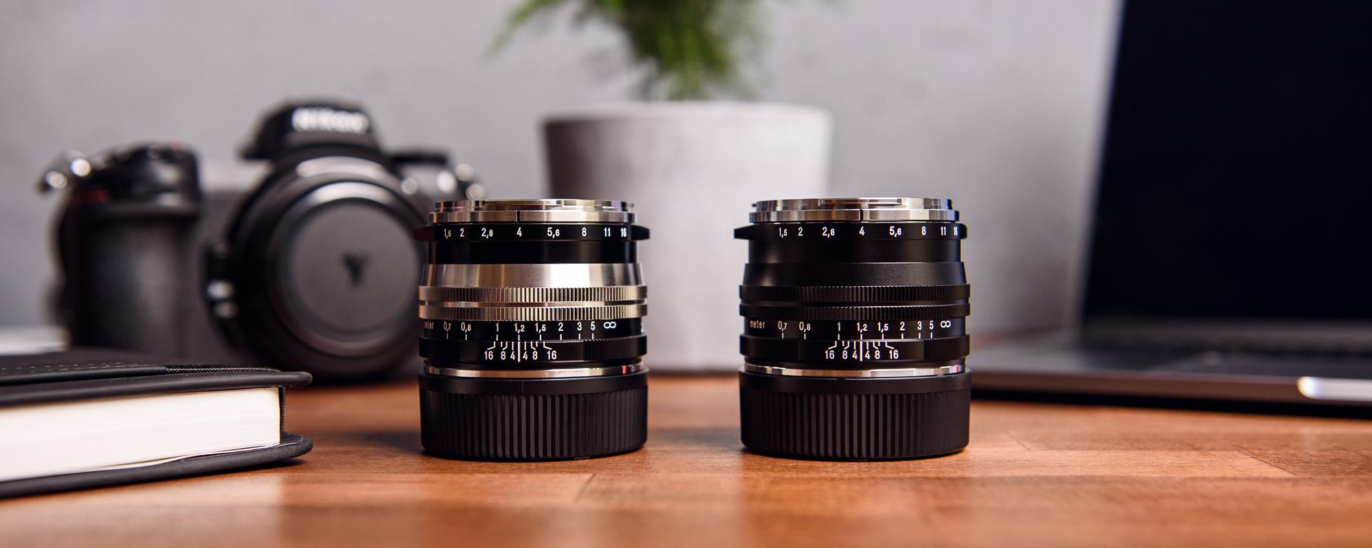 Obiektyw Voigtlander Nokton II 50 mm f/1,5 do Leica M - nikolowy i czarny
