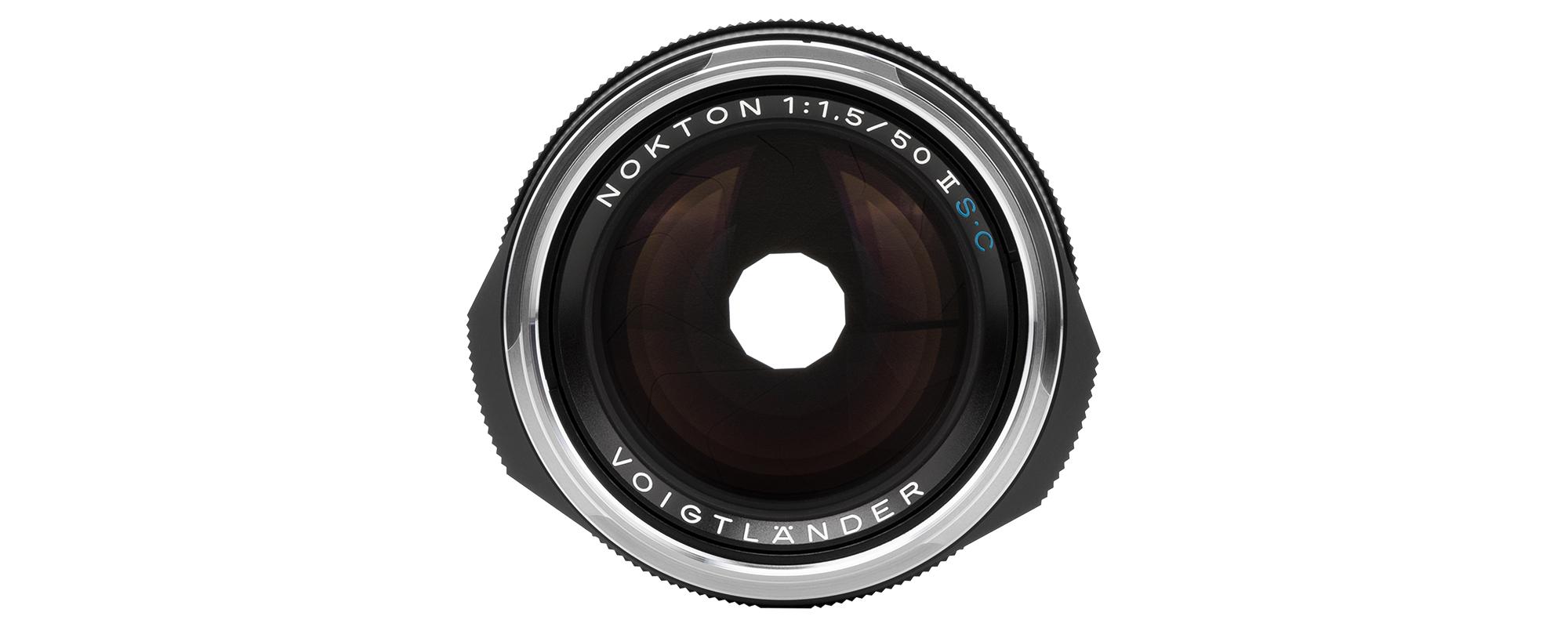 Obiektyw Voigtlander Nokton II 50 mm f/1,5 do Leica M - SC, czarny