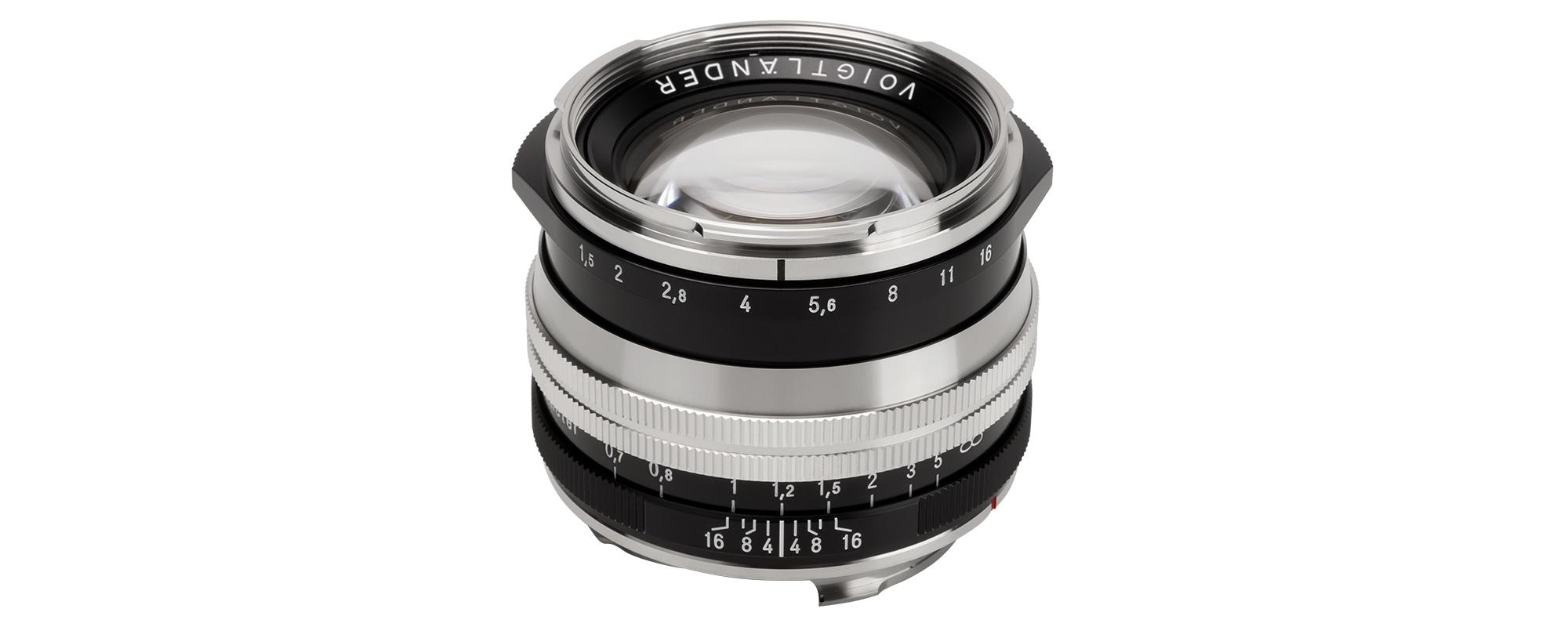 Obiektyw Voigtlander Nokton II 50 mm f/1,5 do Leica M - SC, niklowy