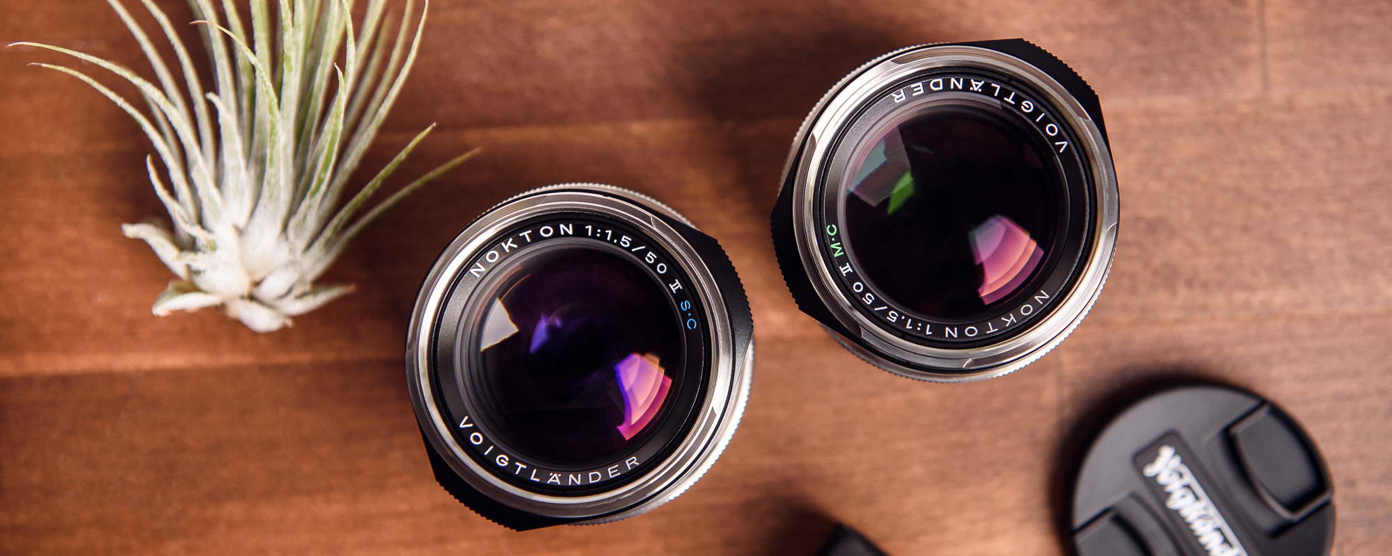 Obiektyw Voigtlander Nokton II 50 mm f/1,5 do Leica M - powłoki SC i MC