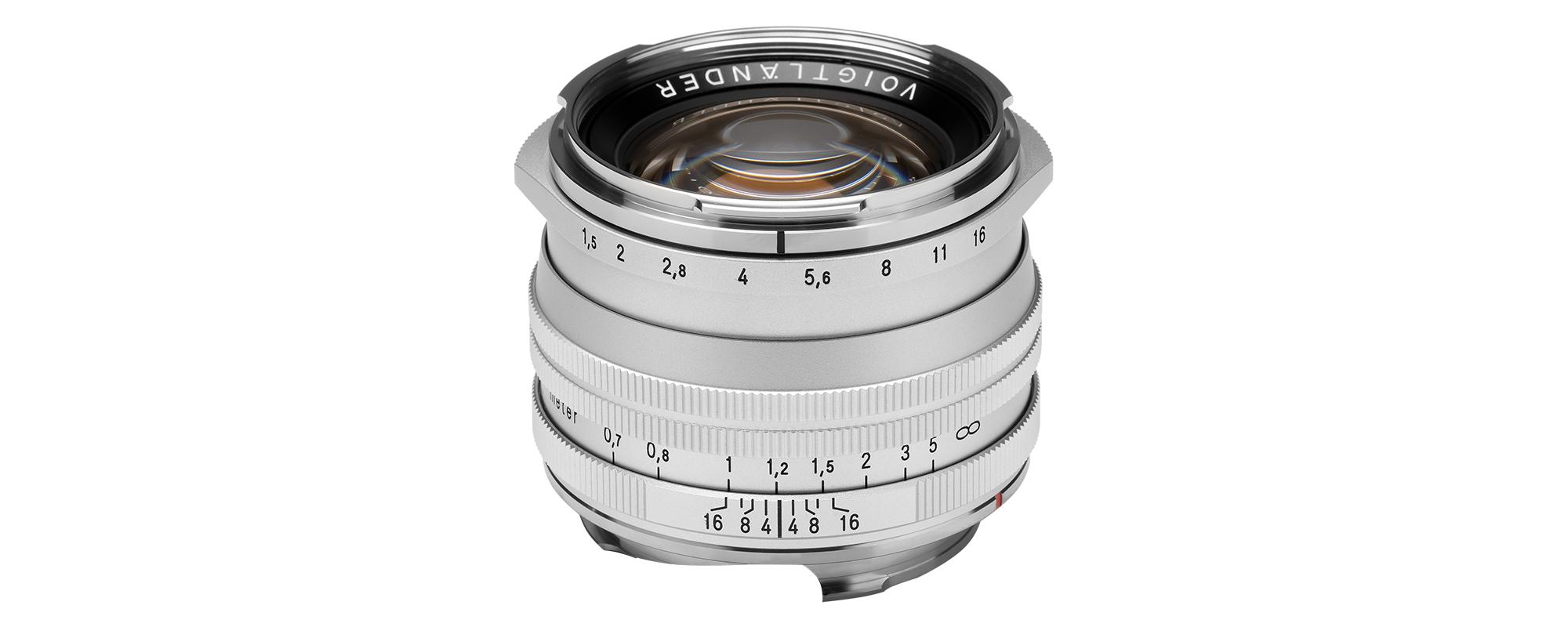Voigtlander Nokton II 50 mm f/1.5 lens for Leica M - SC, silver