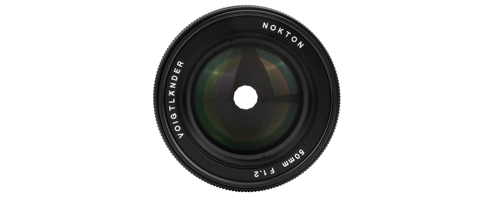 Obiektyw Voigtlander Nokton SE 50 mm f/1,2 do Sony E widok z przodu