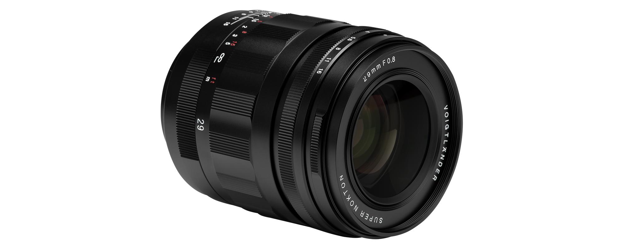 Voigtlander Super Nokton 29 mm f/0.8 lens for Micro 4/3 - solid workmanship