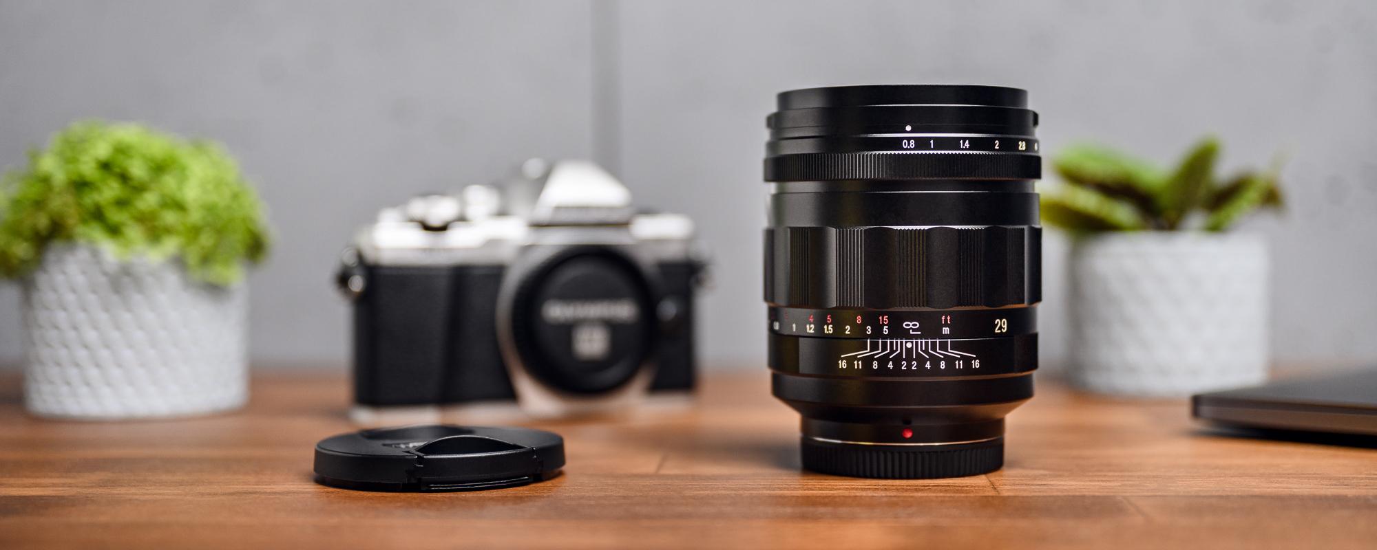 Voigtlander Super Nokton 29mm f/0.8 lens for Micro 4/3 - ready for action