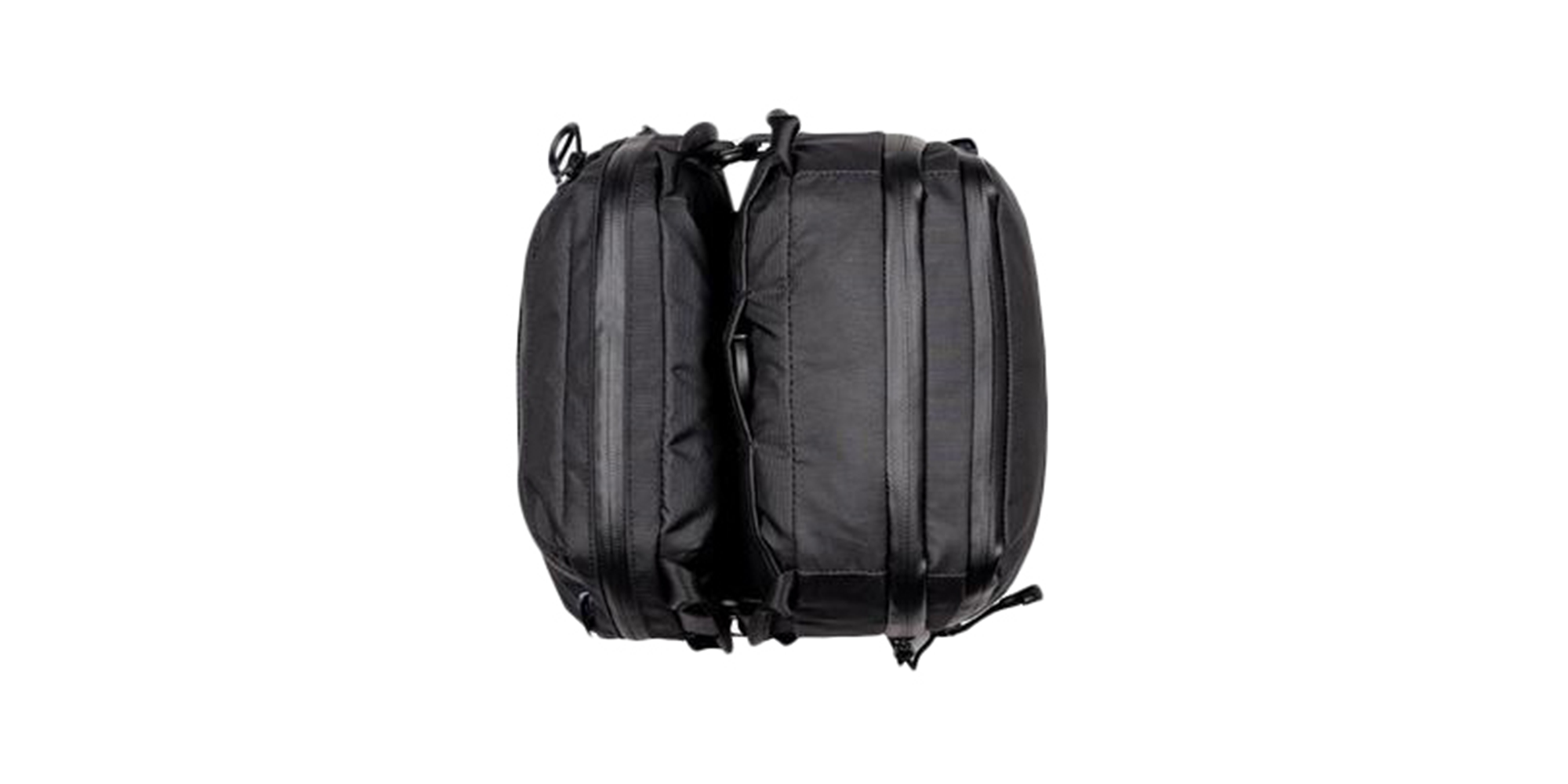 Two Wandrd Toiletry Bags Large and Medium joined together