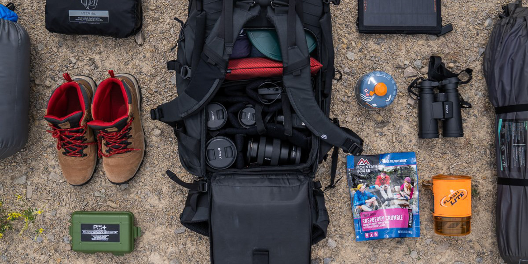 Wandrd Fernweh Trekking Backpack - Wandrd Camera Cube Photo Insert