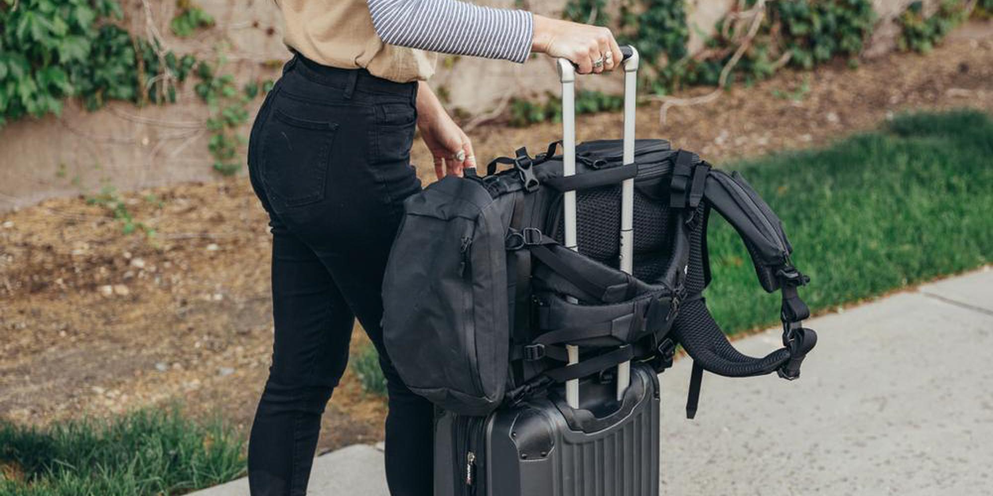 Wandrd Fernweh Trekking Backpack - Travel Suitcase Mount