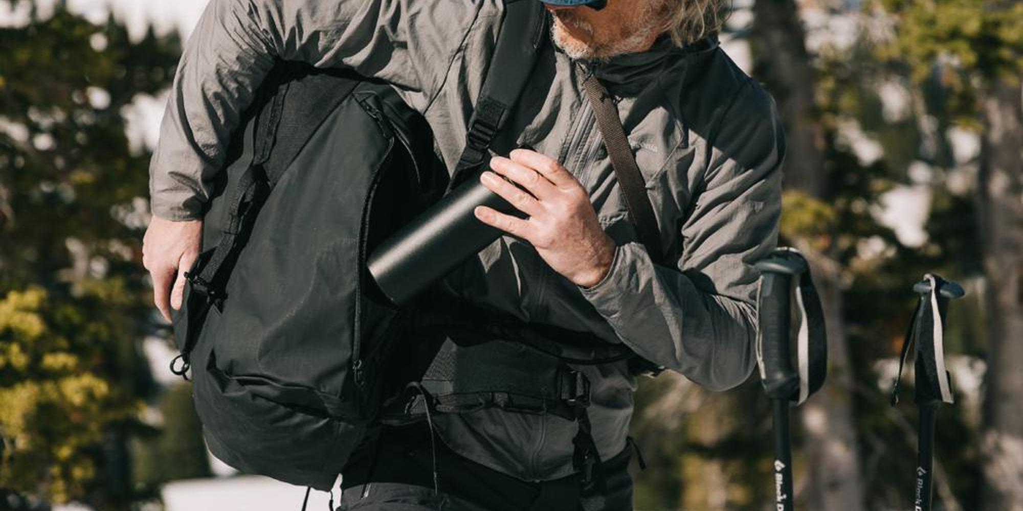 Wandrd Fernweh trekking backpack - bottle pocket