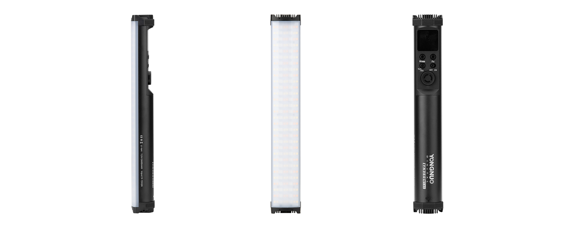 Lampa LED Yongnuo YN360 Mini - RGB, WB (2700 K - 7500 K) - Lekka, mobilna i wielozadaniowa