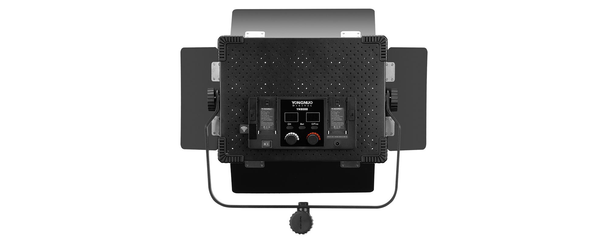 Lampa LED Yongnuo YN9000 - WB (3200 K - 5600 K) - panel kontrolny