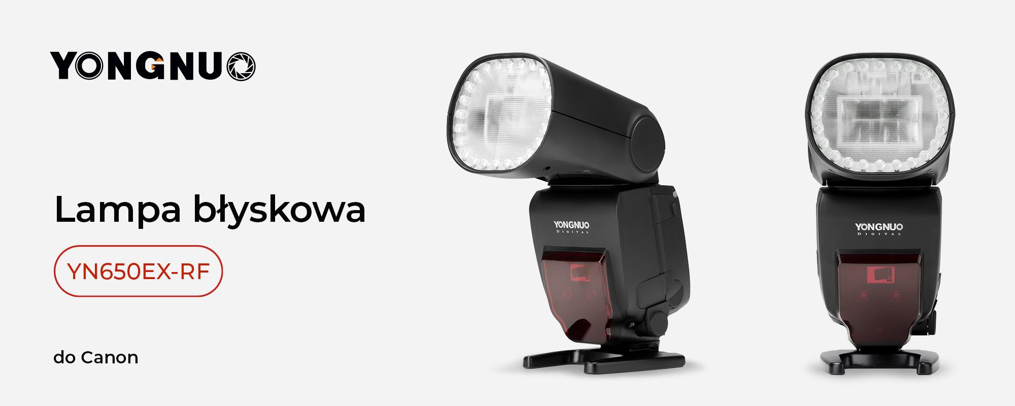Lampa błyskowa Yongnuo YN650EX-RF do Canon